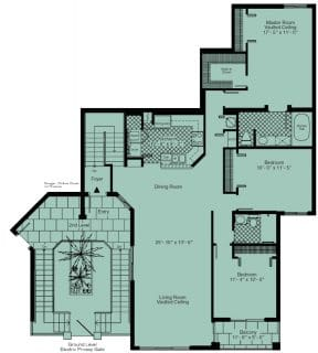 3 Bed / 2 Bath / 1,525 sq ft / Rent: Call for Details